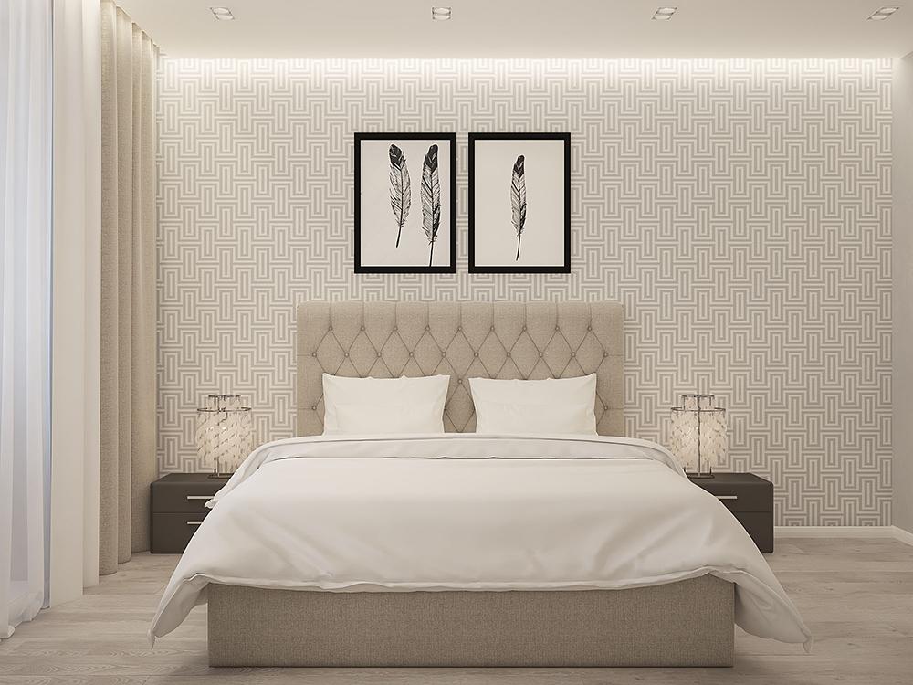 Дизайн-проект квартиры в стиле Контемпорари. ЖК Виктория