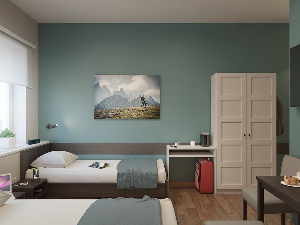 Дизайн-проект гостиницы Park-Hotel