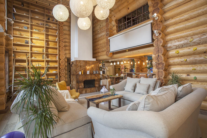 Уютный дизайн загородного дома