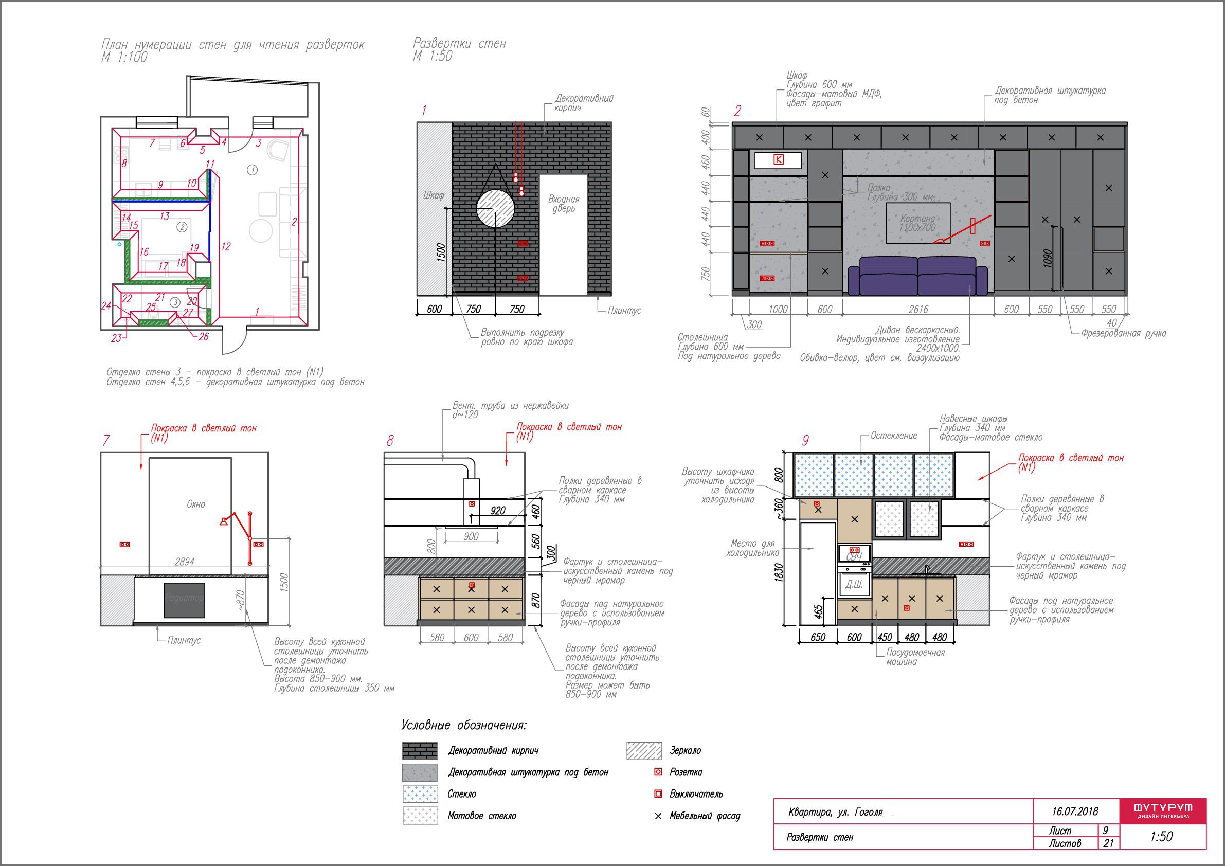 Из чего состоит дизайн-проект интерьера? Мы покажем!