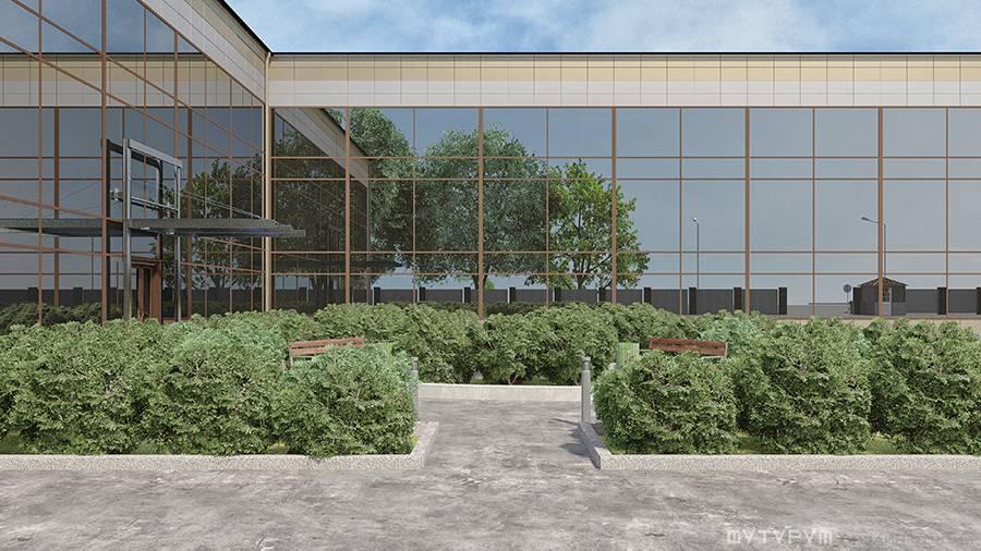 Разработка архитектурного решения Торгово-складской комплекс с шоурумом и зданием АБК