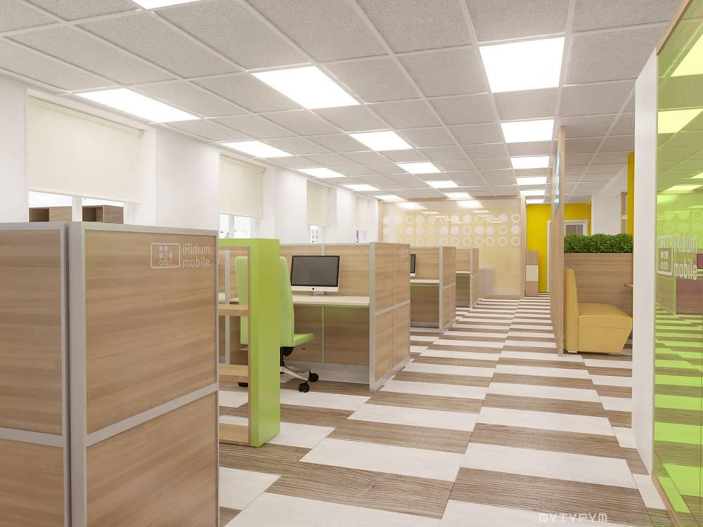 Дизайн интерьера офиса IRidium mobile