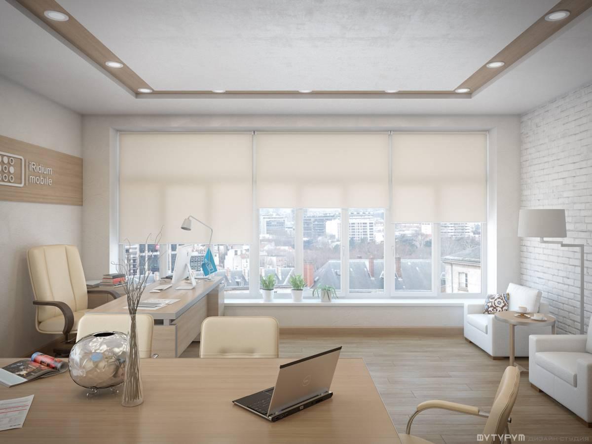 Дизайн интерьера современного офиса. Мансарда. IRidium mobile