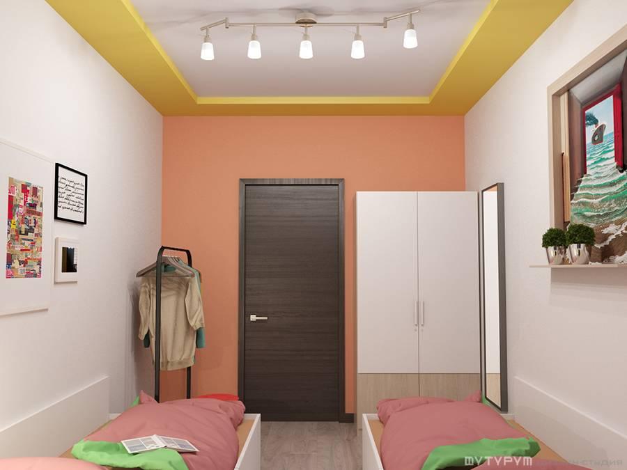 Дизайн-проект интерьера хостела