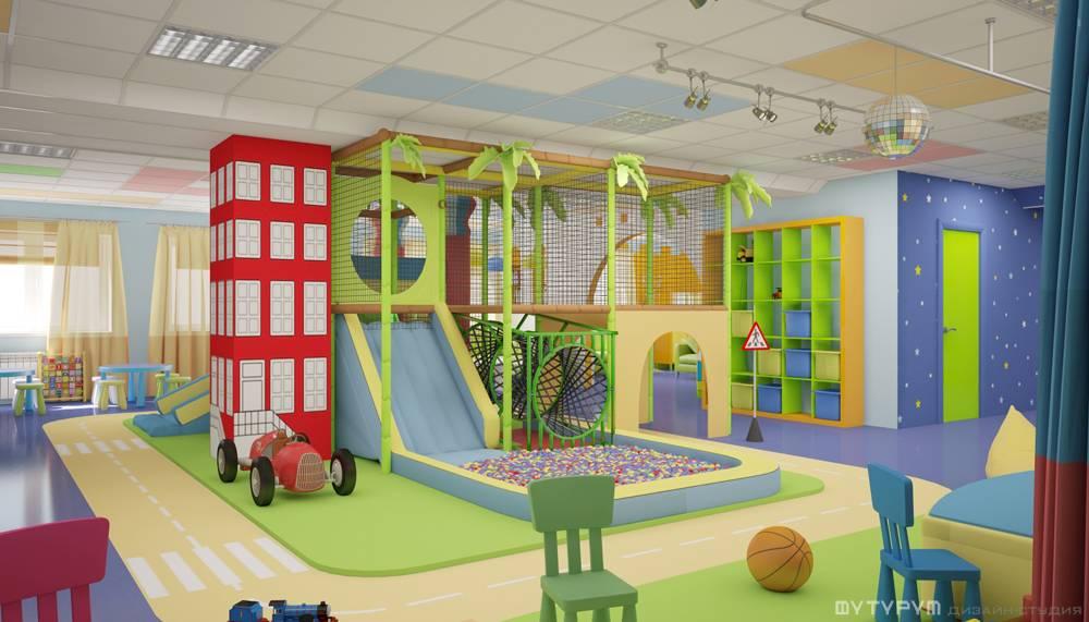 Интерьер детского центра
