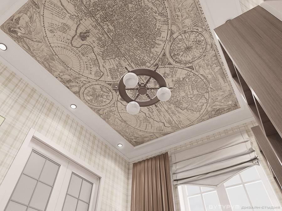 Дизайн интерьера коттеджа, г. Верхняя Салда