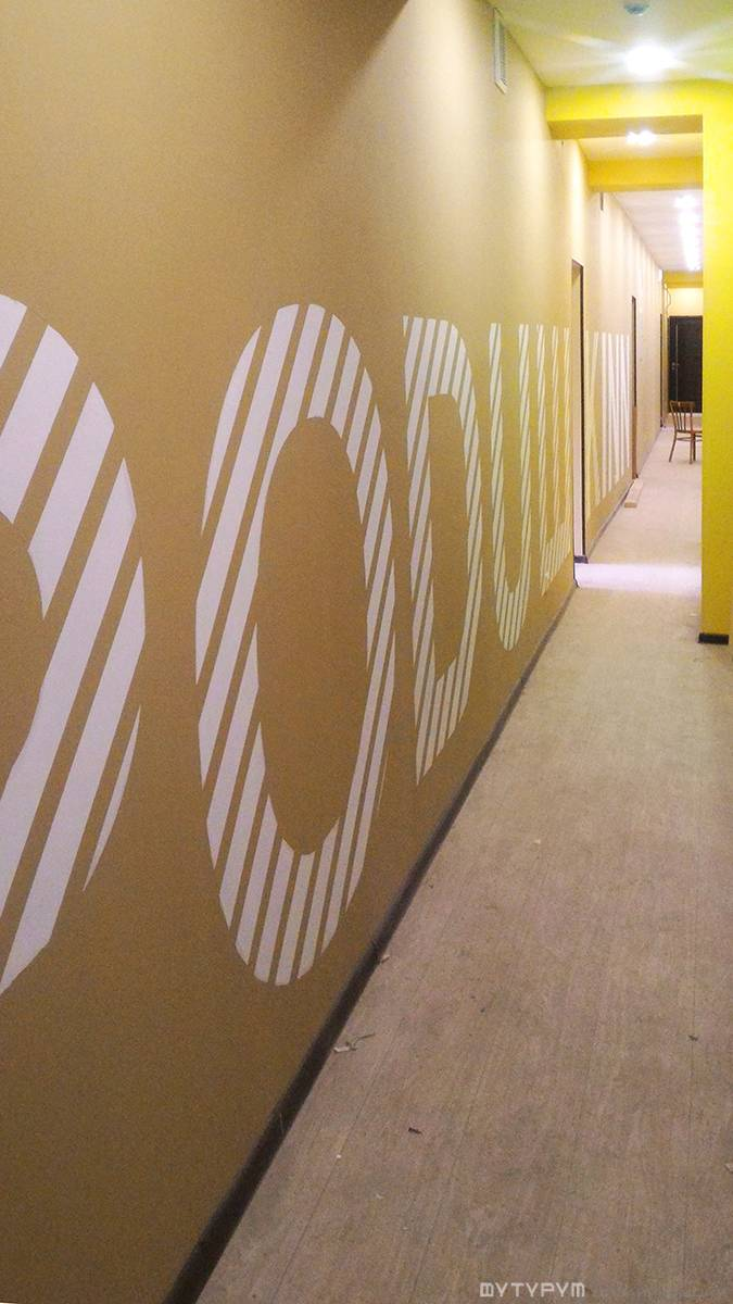 Дизайн интерьера хостела