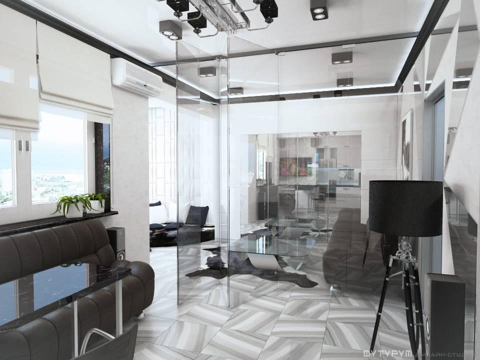 Дизайн квартиры-студии, г. Сочи