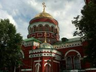 Воплощение эскизных работ по оформлению экстерьера Церкви в г. В. Салда