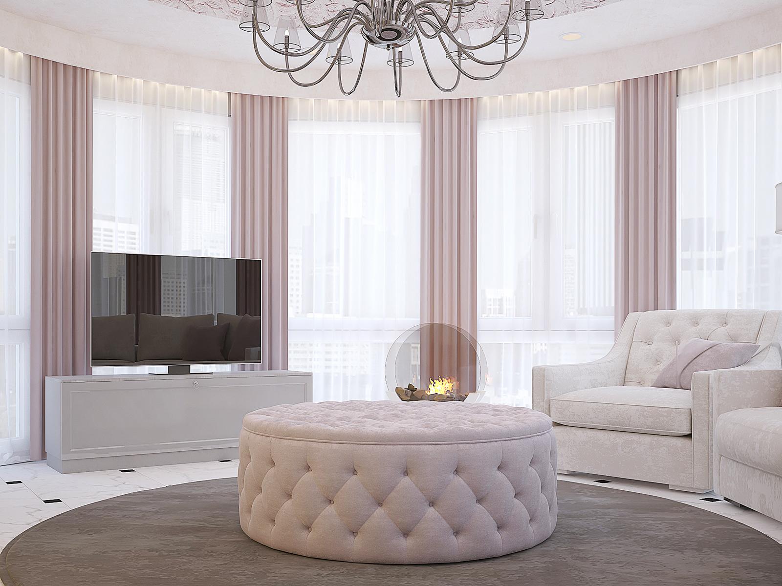 Интерьер квартиры с элементами ар-деко