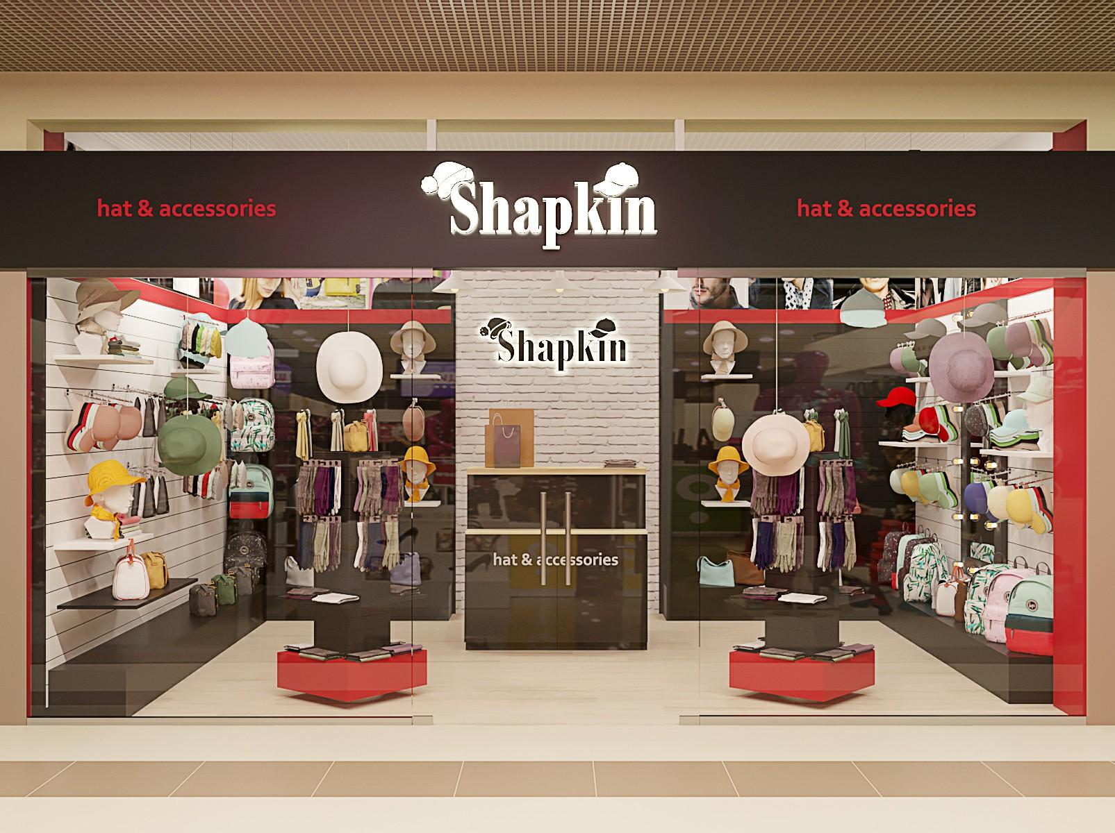 """Сеть магазинов """"Shapkin"""""""