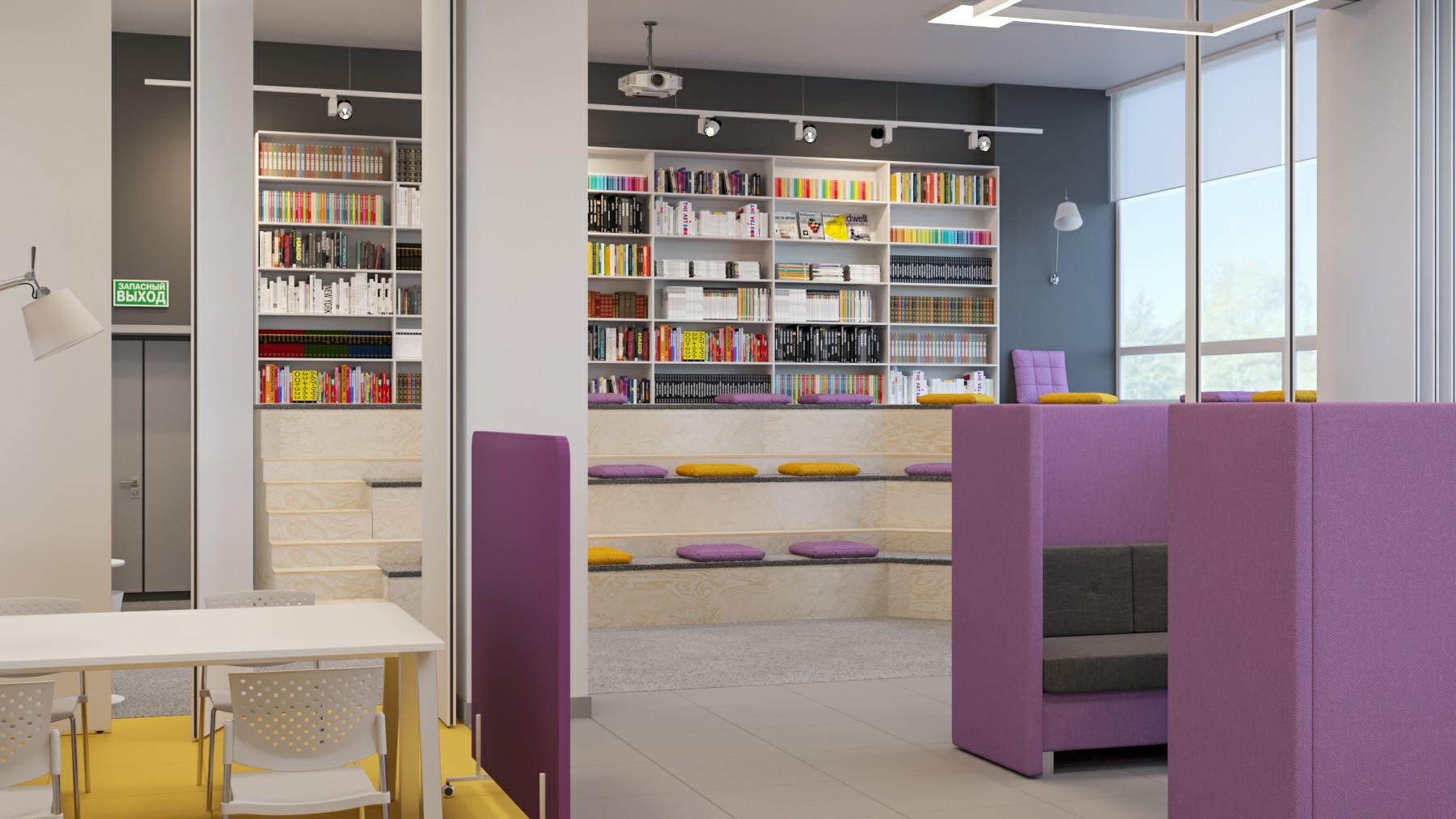 Библиотека Уральского Федералього Университета