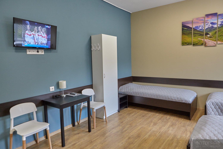 Реализация интерьера гостиницы