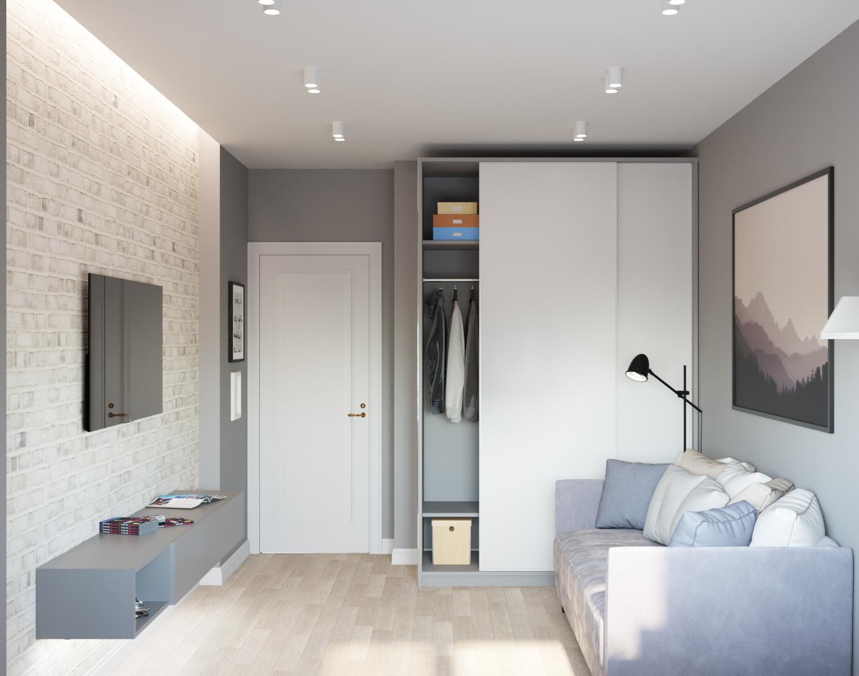 Классический стиль в интерьере квартиры.  ЖК   Солнечный
