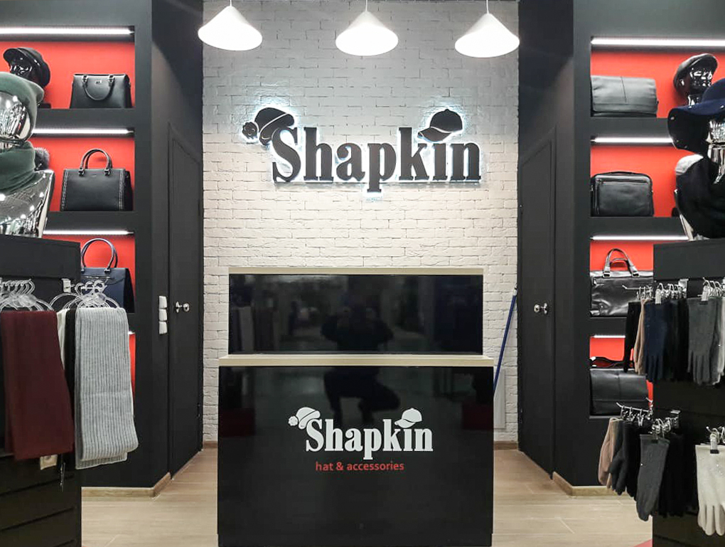 """Магазин """"Shapkin"""""""