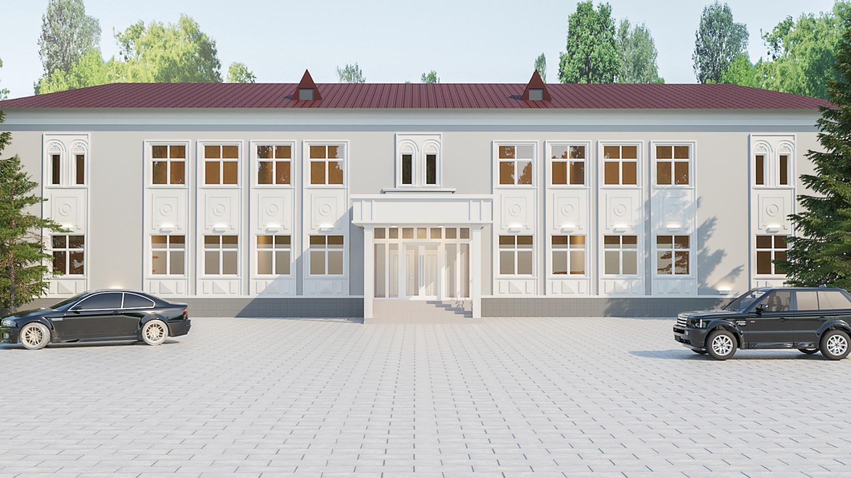 Реконструкция фасада