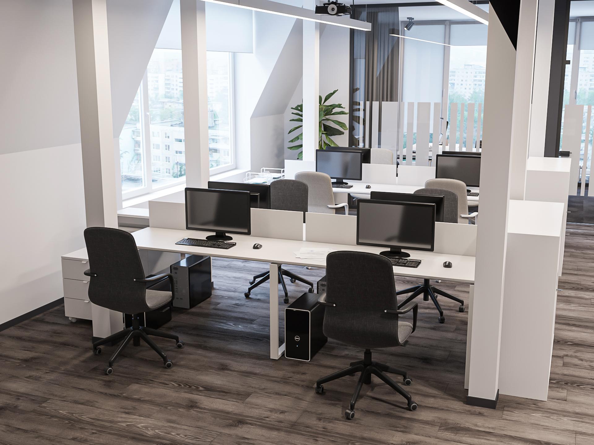 Дизайн офиса строительной компании