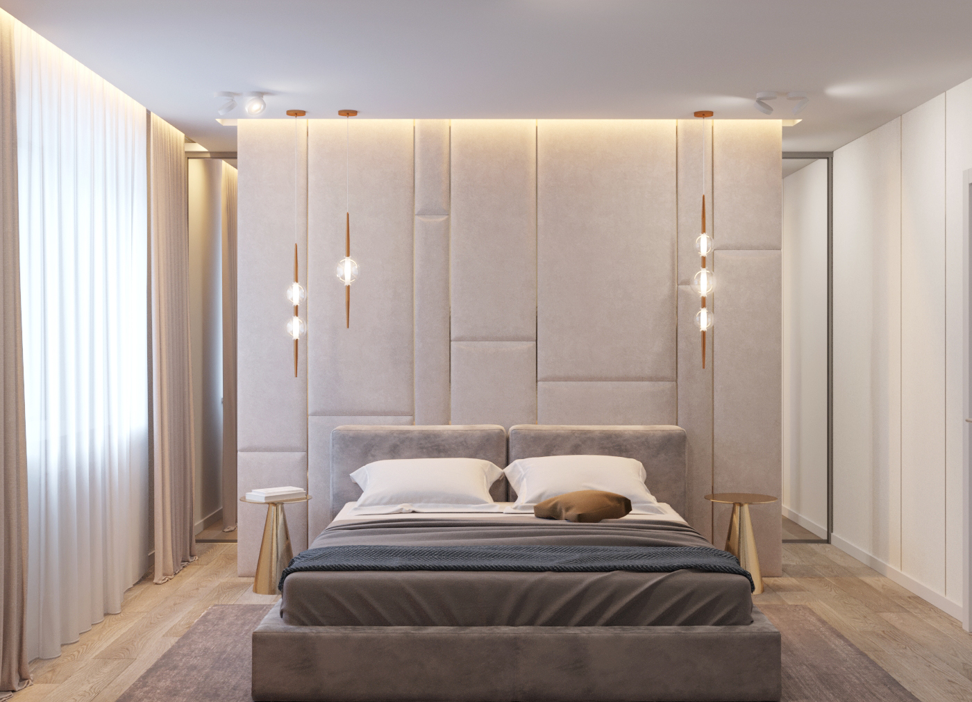 Интерьер 3х комнатной квартиры